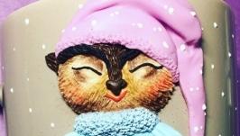 Кружечка ′Сонная сова′