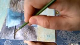 Как покрыть картину лаком