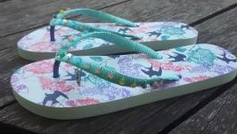 Шльопанці, пляжні тапки, взуття для басейну, взуття для відпочинку