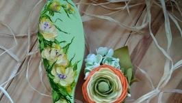 Расческа Весенние цветы