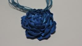Комплект Синие цветы