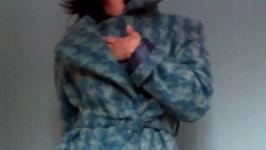 Кашемировое демисезонное пальто.