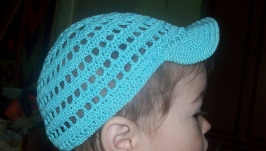В′язана літня кепка для хлопчика