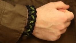Браслет из паракорда ′Змей′ (Браслет выживания)