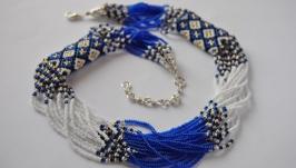 Етно в синьому кольорі