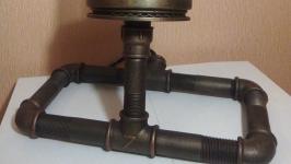 Настольная лампа Z в стиле Лофт (Loft), Индастриал, Стимпанк