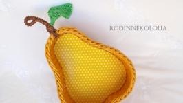 Мастер класс - Плетеная груша