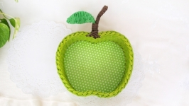 Мастер класс - Плетеное яблоко