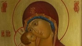 Икона Божией Матери Владимирская. Извод прп. Андрея Рублева.