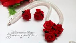 Комплект ′Сердце в розах′