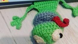 Закладка Лягушка