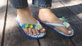 Пляжні шльопки ′Літній настрій′