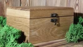 Подарочная коробка из дуба.