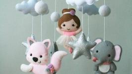 Дитячий мобіль Дівчачі мрії