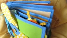 Развивающая книжка с кукольным домиком