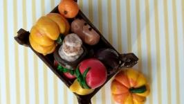 Овощи из полимерной глины