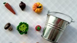 Набор овощей из полимерной глины