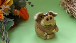 Cвинка фигурка свинья Хрюха