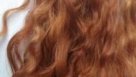 Натуральный волос для кукол(пух ангорской козочки)