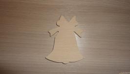 Заготовки деревянные для декупажа - колокольчик