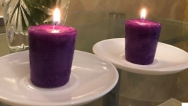 Ухаживаем правильно за свечами. Задувать свечу нельзя!