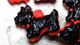 Пуговицы декоративные ′Собака′