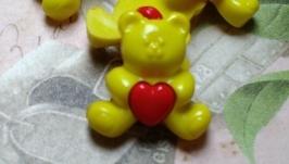 Пуговицы декоративные ′Мишки′