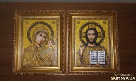 Купить «Вінчальні ікони ручної роботи з бісеру» в Украине 96c682a1c1de7