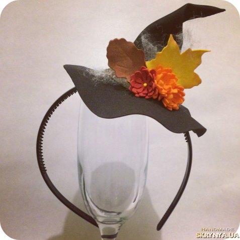 Летняя шляпка с цветами из фоамирана - запись…