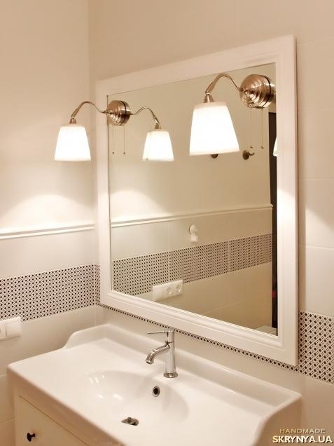 тут изображено Зеркало для ванной