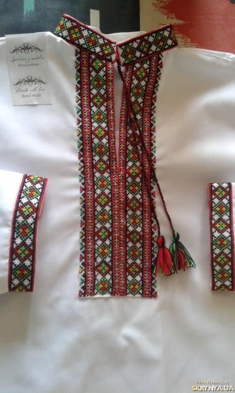 Купить Вишиванка для хлопчика ′Кольорова′ в России e8aa7a06522bb