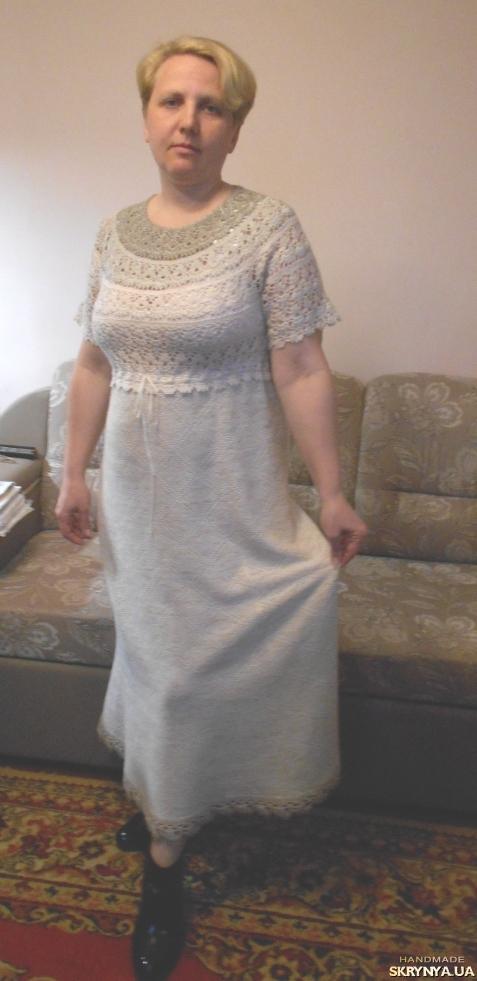 Платье из ткани шитье хлопок платья 3
