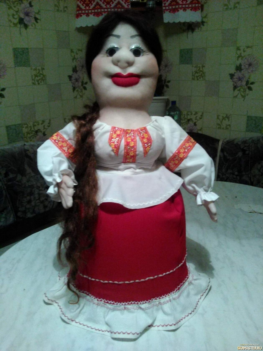 тут изображено куклы Марфушечки