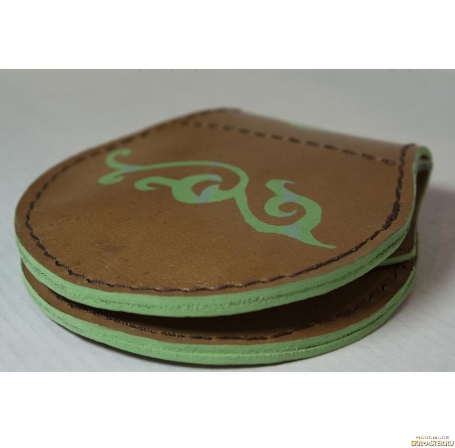 тут изображено Круглый мини кошелек ′Pancake′