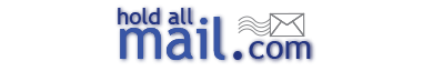 The Hold All Mail Service is offered to clients who wish to have their correspondence, financial statements and mail received and held for them at a secure US location.