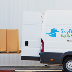 SkyBOX delivers your packages at your home or office.