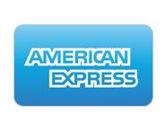 American Express payment method.