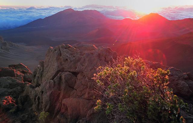 Product Haleakala Sunrise, Downhill Bike & 5 Line Zipline Tour