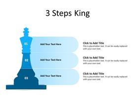 3 Steps King