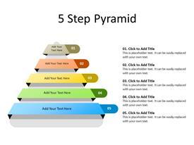 5 Steps Pyramid