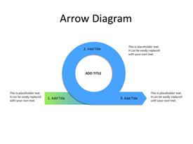 Arrow curve process diagram