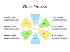 6 circular steps diagram