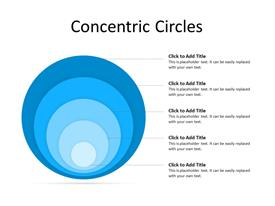 Five Concentric circles