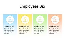 Employee Bio Concept