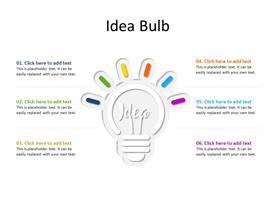 An idea bulb