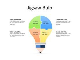 Jigsaw bulb concept
