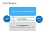 PowerPoint Slide - This PowerPoint diagram slide shows opposing views as text boxes and circles.