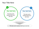 PowerPoint Slide - This PowerPoint diagram slide shows factors and how they cooperate to make a result.