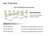 PowerPoint Slide - This PowerPoint chart slide shows a data driven simple editable line chart.
