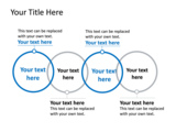 PowerPoint Slide - This PowerPoint slide is a linear Venn diagram, with 4 interlocking circles.
